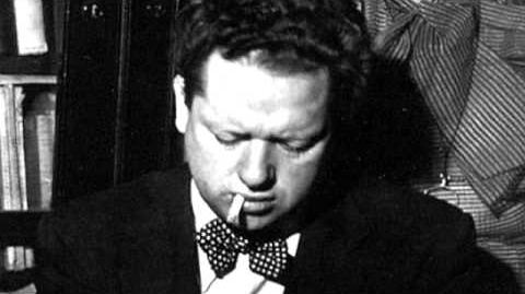 """Dylan Thomas reads """"Do Not Go Gentle Into That Good Night"""""""