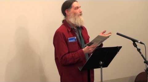 """Antler; reading """"Atheist Blows Up Baby Jesus"""""""