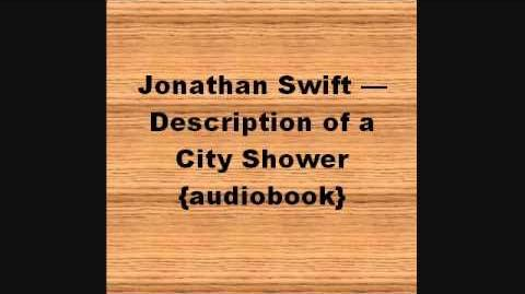Jonathan Swift — Description of a City Shower audiobook