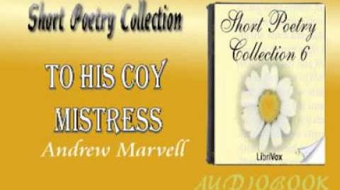 To His Coy Mistress Andrew Marvell Audiobook Short Poetry