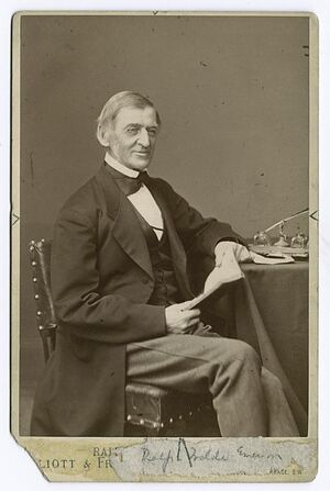Emerson seated