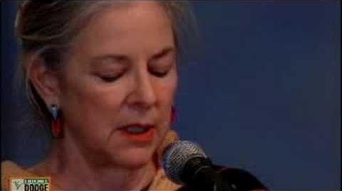 Linda Hogan reading at the 2006 Dodge Poetry Festival