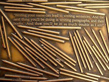 Henry David Thoreau quote - Library Way - NY City