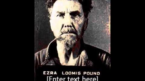"Ezra Pound, ""Moeurs Contemporaines,"" from 'Ezra Pound Reading His Poetry', 1960 LP."