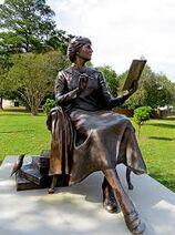 Karle Wilson Baker statue