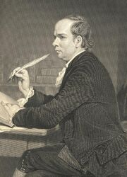 Oliver Goldsmith sephia