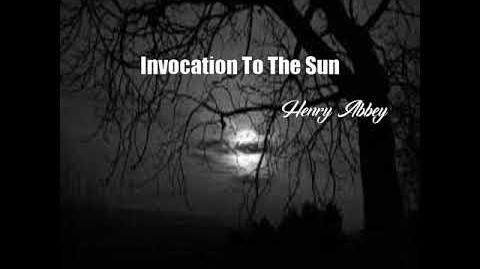 Invocation To The Sun (Henry Abbey Poem)