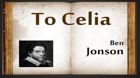 Song: To Celia / Ben Jonson