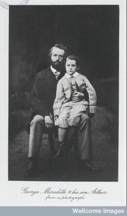 GEorge Meredith and son