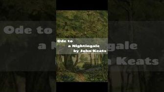 Ode to a Nightingale by John Keats Famous English Poems by Famous Poets Listen Free Audio Online