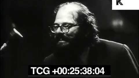 Allen Ginsberg Reads Beat Poetry at Royal Albert Hall London 1965