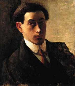 Isaac Rosenberg - Selfportrait