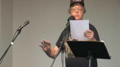 Bill bissett Sound Poem at Artword Artbar, Hamilton October 18 2009