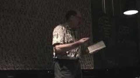 Charles Potts Reads in Korea 2006