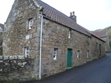 Birthplace of Michael Bruce, Kinnesswood, Fife