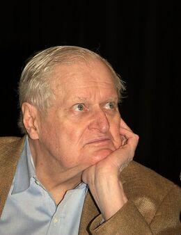 John Ashbery in thought 2010 Shankbone