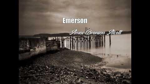 Emerson (Amos Bronson Alcott Poem)