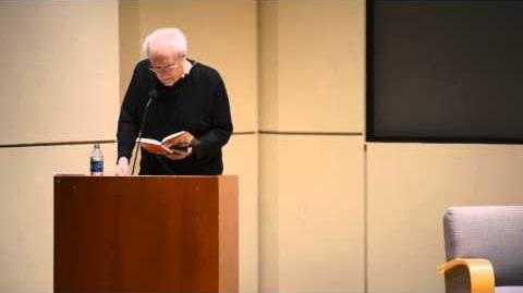 Frank Bidart reads three poems