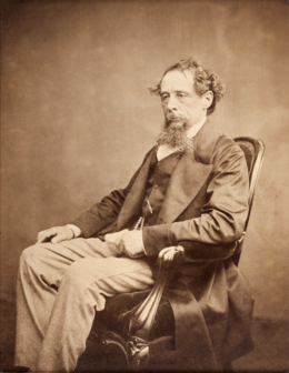 Charles Dickens circa 1860s