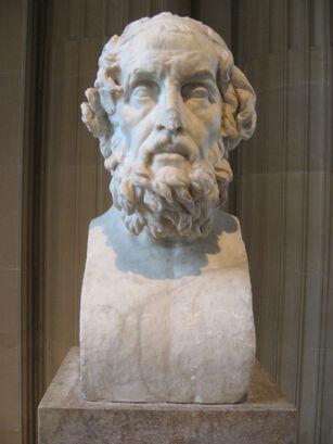 Homer bust louvre front