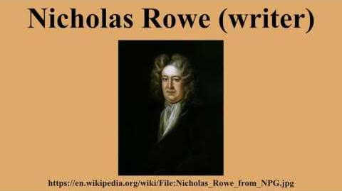Nicholas Rowe (poet)