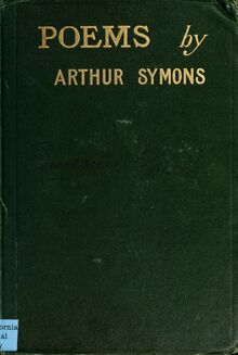 Poemssymons00symo 0001