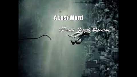 A Last Word (Francis Joseph Sherman Poem)