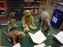 The original Winnie the Pooh toys