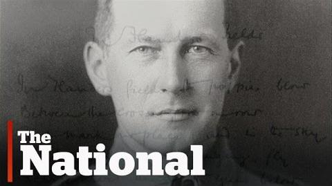 The solider behind 'In Flanders Fields'