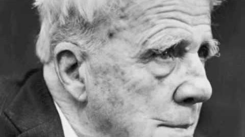 Robert Frost reads Birches