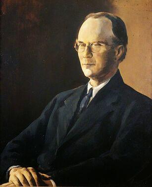 Wilfred Childe portrait