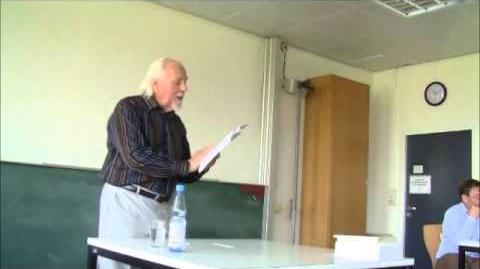 Henry Beissel - Poetry Reading 2013 at Marburg University (Part 1)