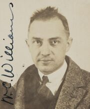 William Carlos Williams passport photograph 1921