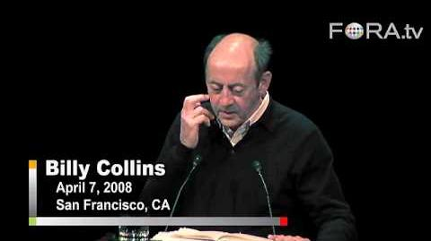 """Billy Collins - """"Litany"""""""
