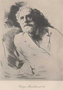George Meredith.age72