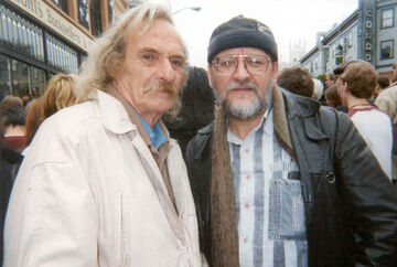 Jack Hirschman & Polish American translator Janusz Zalewski