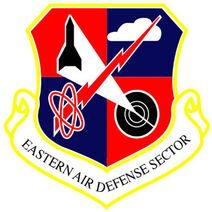 Eastern Air Defense Sector emblem