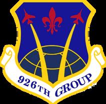 926th Group - emblem