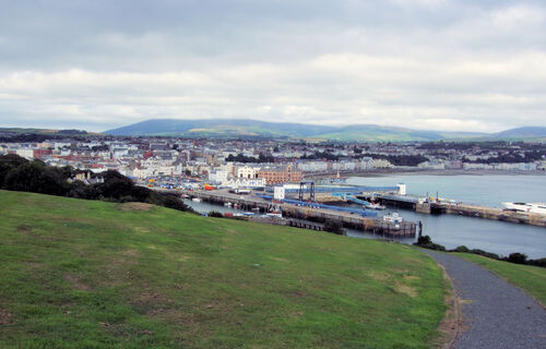 The View From Douglas Head, Isle Of Man.