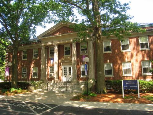 Beautiful Dabney Hall