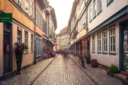 Beautiful Erfurt street