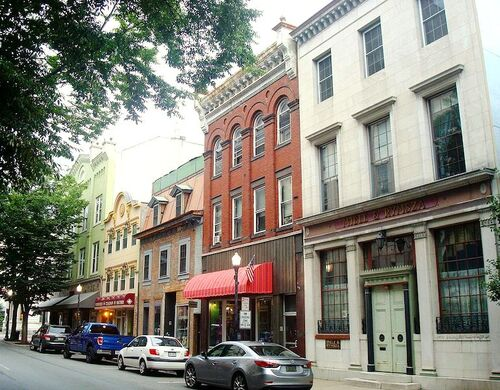 West 4th Street between Court and Market Streets Williamsport