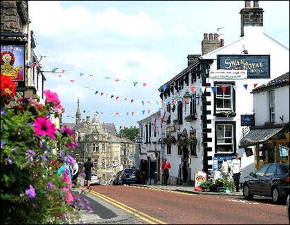 Castle Street in Clitheroe