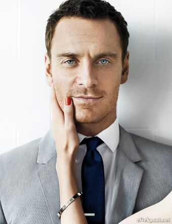 Michael Fassbender by Mario Testino for GQ