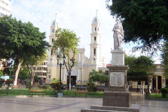 Plaza de Armas in Piura