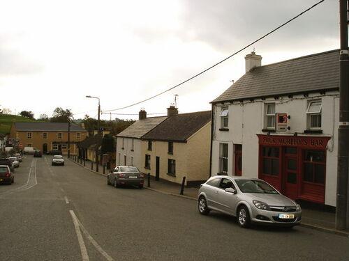 Main Street in Ballymore Eustace