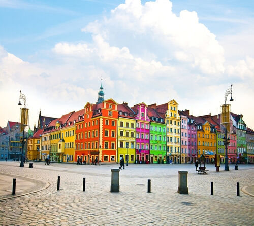 Beautiful Wroclaw