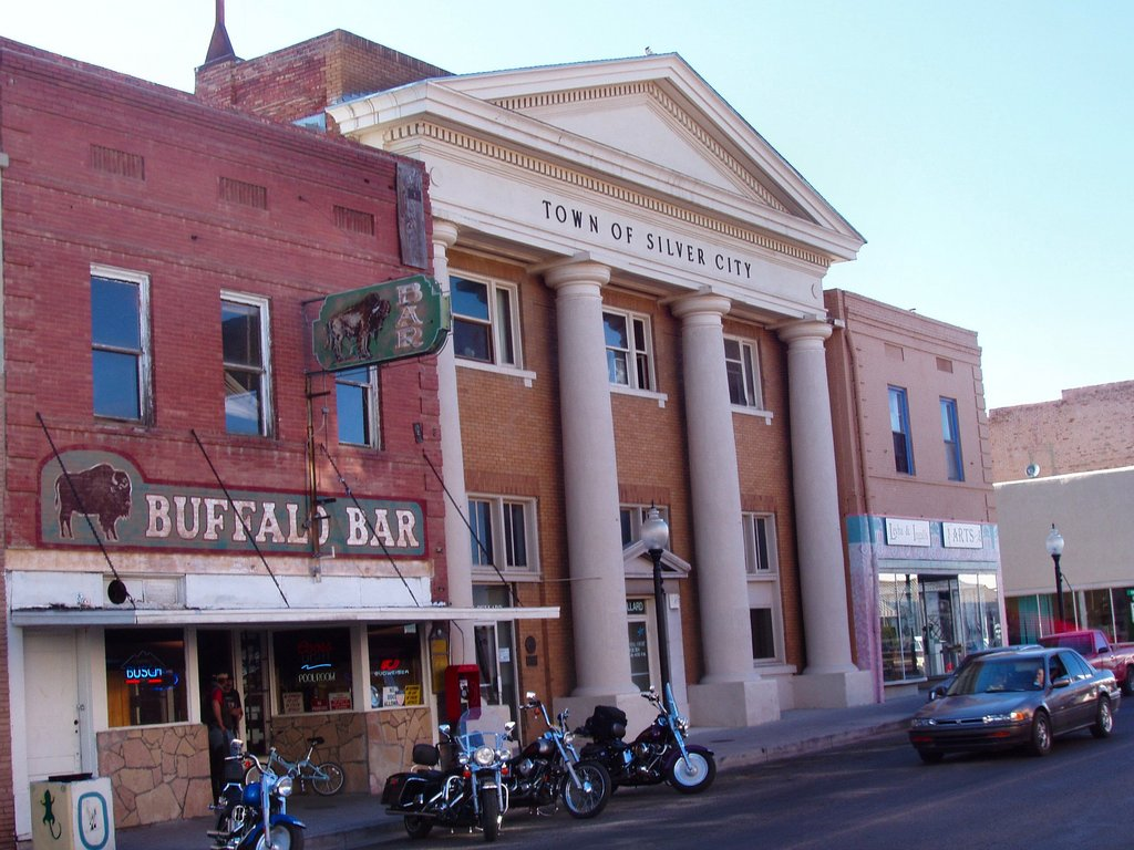Town Hall Of Silver City Jpg