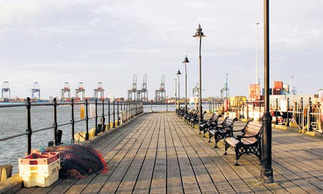 Beautiful Harwich boardwalk