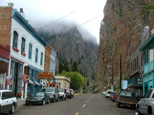 Creede in mist